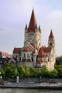 St. Francis of Assisi Church in Vienna on Mexikoplatz