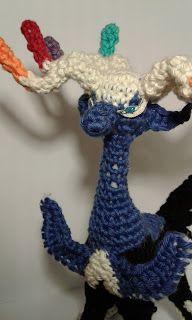 AmiAddict: Xerneas Amigurumi - free crochet  Pokemon pattern.