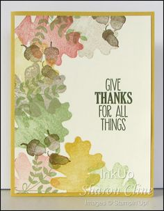 Give Thanks - For All Things, Vanilla Shimmer Smooch Spritz, fall, masculine (Sharon Cline - inkup.us)