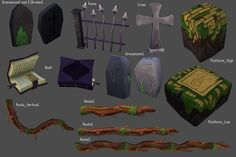Lightfall Props by ~Pint38 on deviantART