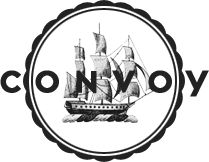 Convoy Rugged hipster home & style Logo Design Love, Logo Design Inspiration, Design Art, Branding Design, Graphic Design, Logo Branding, Nautical Logo, Hipster Home, Freaky Styley
