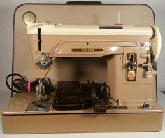 "1959 Singer Sewing Machine Model 404 Vintage ""WORKING"" with original case"