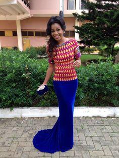 My Style Tracy Iddrisu  ~African fashion, Ankara, kitenge, African women dresses, African prints, African men's fashion, Nigerian style, Ghanaian fashion ~DKK