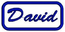 David Name free embroidery designs free baby patterns