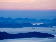The Seto Inland Sea comprises some 3,000 islands, and has an extensive ferry network perfect for island-hopping.