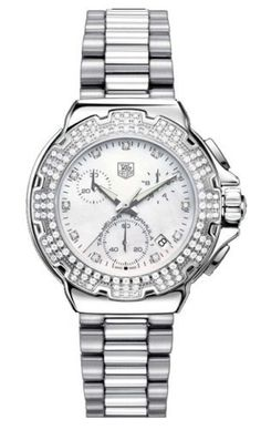 TAG Heuer Women's CAC1310.BA0852 Formula 1 Diamond Accented Chronograph Watch from TAG Heuer   @ TAG-Heuer-Watches .com