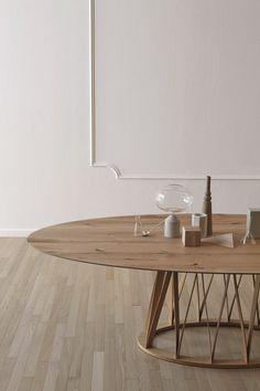 ACCO   Mesa de madeira By Miniforms design Florian Schmid