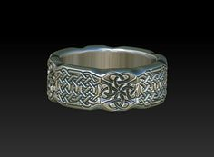 celtic band    celtic wedding band    wedding by BonzerJewelry, $175.00