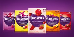 Bassetts Vitamins re-launches with a revitalised design — The Dieline | Packaging & Branding Design & Innovation News