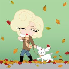 Fall is here! #MiniMarilyn