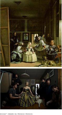 """Cuando los cuadros clásicos se vuelven """"remakes de nuestro presente"""""""