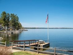 Wonderful opportunity for year-round living on 1.1 acres with 150' of waterfront on Sebago Lake. Delightfully updated log home with 3 BR, 2 BA, kitchen, DR, LR & deck with amazing views of mountains & sunsets. Separate bunkhouse & 2-car garage.  http://www.legacysir.com/maine-real-estate/25-Whites-Point-Annex-Standish-maine-04084/1134240/
