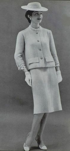1958 - Chanel suit