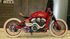 "Indian Motorcycles Project Scout Winner  ""Boardtracker"" TERREBONNE, QC MOTOS ILLIMITEES"