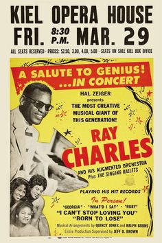 """Ray Charles' recording hit number one for two weeks on the Billboard Hot 100, beginning on Monday, October 9, 1961.""""Hit the Road Jack"""" also got a Grammy award for Best Rhythm and Blues Recording. The song was also number one on the R & B Sides chart for five weeks."""