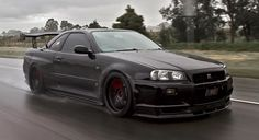Skyline R34 GTR...pure evil! i love it