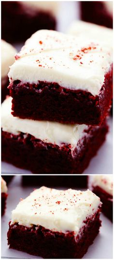 RED VELVET BROWNIE WITH CREAM CHEESE FROSTING is #3 on our list