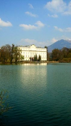 The Von Trapp House  from the Sound of Music; Salzburg, Austria. [magical view from that house...we had to sneak to the back yard XD]