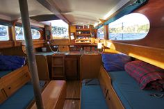 Show me your sailboat's interior - Page 18 - SailNet Community