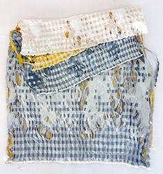 Fixed Fray Silk, polypropylene Jacquard woven gingham Meghan Spielman