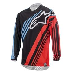 Alpinestars 2015 Racer Supermatic Black/Red/Blue Adult Jersey