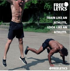 Freeletics workouts. No excuses. Train like an athlete, look like an athlete. Bodyweight only exercises. http://frltcs.com/freeletics-transformation