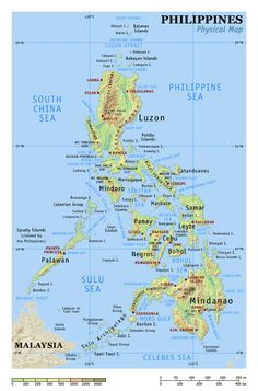 Detailed world map free sketch resource for download sketchhint physical map of philippines gumiabroncs Images