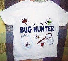 Bug Hunter Shirt Kids Novelty Shirt Boys Clothing by Splashin