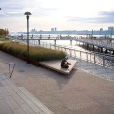The West Harlem Piers Park by W Architecture