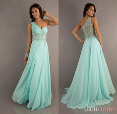 2014 New Chiffon Bridesmaid Evening Formal Party Ball Gown Prom Dress SZ 6-16  #BallGown #Formal