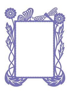 Couture Creations Embossing Folder - Hearts Ease Frame