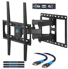 Ready Set Mount Full Motion Tv Wall Mount W 8 Ft Hdmi Cable