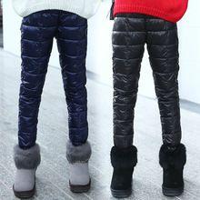 10-11 Years, Black Crazy Chick Children Red Cotton Full Length Leggings