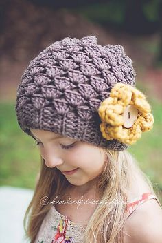 Ravelry: Katherine Hat (Slouchy or Square Finish) 0-6, 6-12, 1-2, 2-5, 5-8 & Adult pattern by Salena Baca