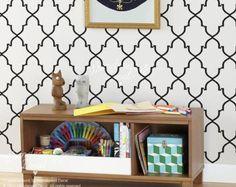 Marocaine modèle papier peint mur panneau sans soudure modèle mur autocollant Wall decal de papier peint - élégante