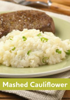 We love this mashed cauliflower recipe! It's like mashed potatoes - only better!