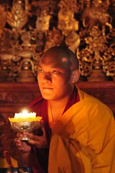 """Gratitude bestows reverence, allowing us to encounter everyday epiphanies, those transcendent moments of awe that change forever how we experience life and the world.""   ~ John Milton  Image: H.H the 17th Karmapa"