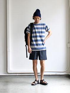 YAECA ERGONOMIC 60/40 cloth shorts