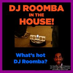 Parks and Recreation - DJ Roomba! - Click for animated .gif!