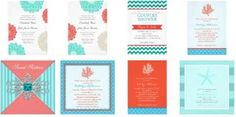 turquoise and coral wedding - - Yahoo Image Search Results
