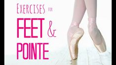 Here are ALL the exercises I know to improve and strengthen your feet, get your pointe shoes as fast as possible, and excel at pointe work! I really hope thi. Knee Strengthening Exercises, Foot Exercises, Ballet Body, Ballet Feet, Dancer Workout, Dance Exercise, Ballet Stretches, How To Strengthen Knees, Dance Technique
