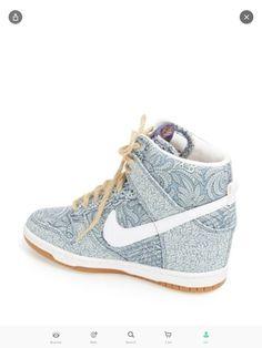 best sneakers f325a e4db9 Nike  Dunk Sky Hi Liberty  Hidden Wedge Nike Hoodie, Nike Shorts, Nike