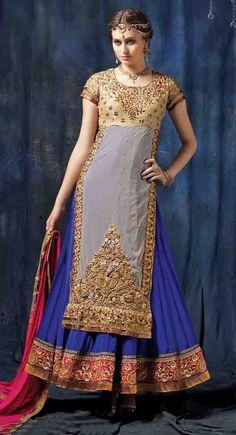 http://shreemadhufashion.com/salwar-kameez/dinky-gray-georgette-net-anarkali-suit-cum-lehenga-suit.html