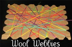 Wool webies and String Start from Putti Prapancha, linked to the Kids Art Explorers project at nurturestore.co.uk