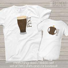 Corrispondenza di papà e bambino camicia ragazzo di zbasement