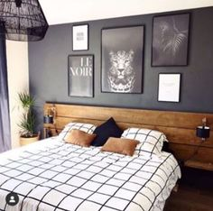 Here are 8 ways to maximize the space in a small bedroom. Home Decor Bedroom, Bedroom Wall, Bedroom Furniture, Living Room Decor, Bed Room, Bedroom Ideas, Bedroom Wardrobe, Bed Wall, Furniture Layout