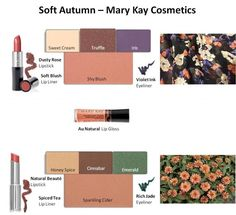 Mary Kay Soft Autumn Looks #1 & #2