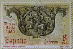 Sellos - Dia del sello - 1980