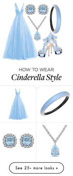 """""""A Cinderella Story"""" by kkai on Polyvore featuring Fendi, Amour and Alexis Bittar"""