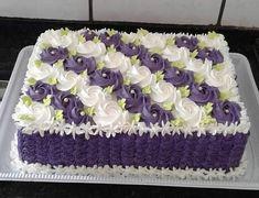 Cake Decorating Designs, Creative Cake Decorating, Birthday Cake Decorating, Cake Decorating Techniques, Anniversary Cake Designs, Wedding Anniversary Cakes, Sheet Cake Designs, Cool Cake Designs, Cake Icing